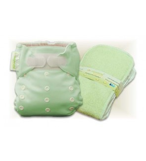 Natural Green Cloth Diaper