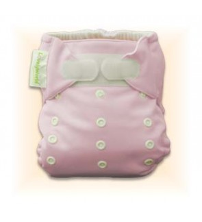 Cutie Pink Plain Diaper Cover Only