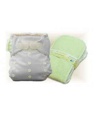 Milky White Cloth Diaper