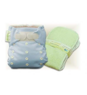 Tiffany Blue Cloth Diaper
