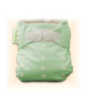 Natural Green Plain Diaper Cover Only