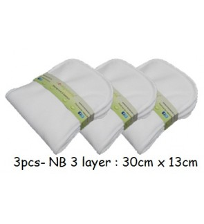 3pcs- New Born Soft-liner Insert